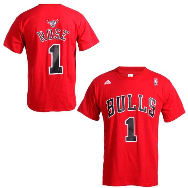 chicago bulls 1 derrick rose net number red t shirt. Black Bedroom Furniture Sets. Home Design Ideas