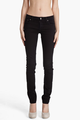 long black jeans - Jean Yu Beauty