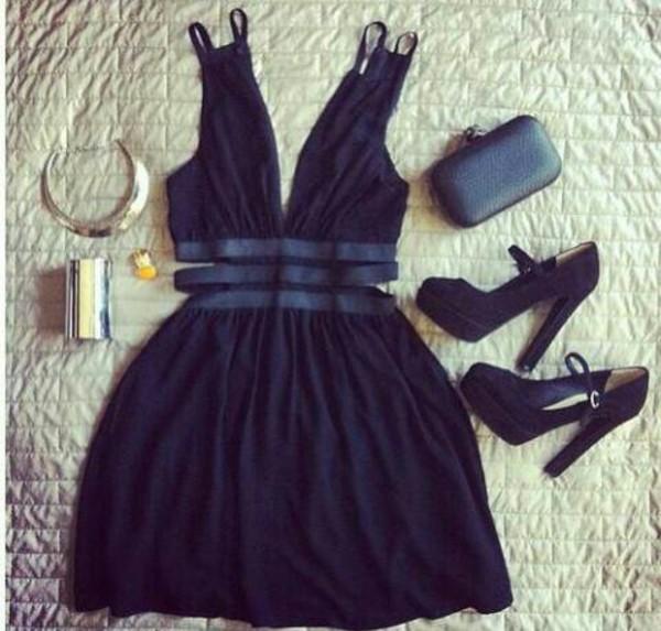 shoes dark blue high heels dress jewels