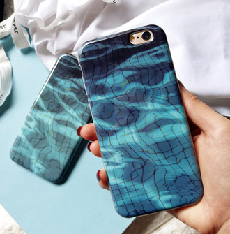 phone cover blue fashion style trendy cool turquoise water iphone cover iphone case iphone boogzel pool pool accessory technology