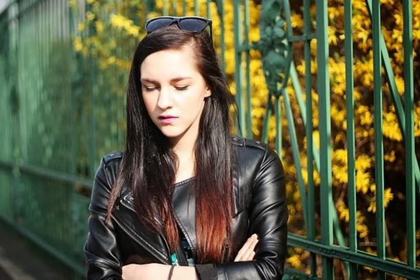 leona meliskova jacket dress bag shoes