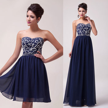 BWB - Beautiful Navy Gown