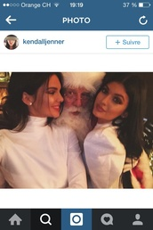 sweater,kendall and kylie jenner,white sweater,dress