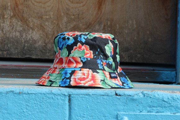 denim bucket turtle reversible floral washed original chuck