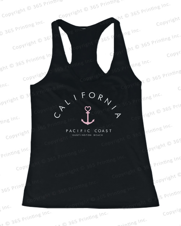 beachwear beach tank tops beach tanks california tank top california top california paradise love california paradise love tank top california pacific coast tank top california pacific coast huntington beach women's tank top anchor tops anchor tank tops anchor tanks
