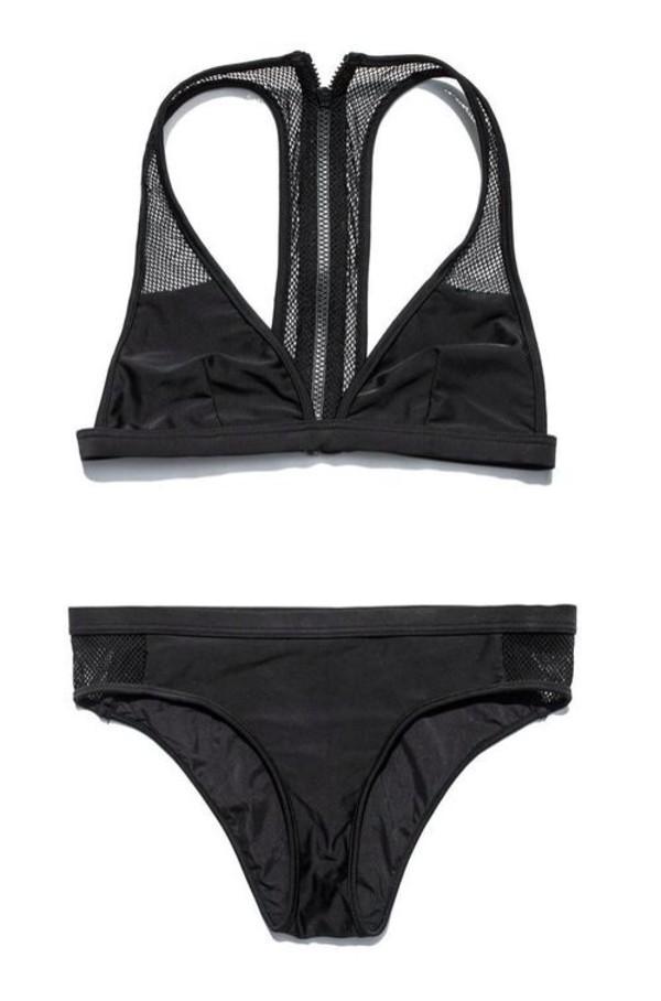 swimwear bikini mesh
