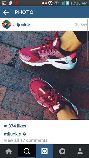 shoes asics burgundy shoes