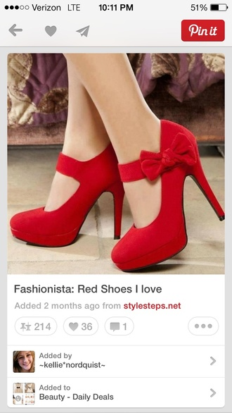 shoes red high red heels pumps heels bows prom shoes red prom shoes high heels