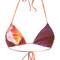 Lygia & nanny - triangle bikini top - women - polyamide - g, purple, polyamide