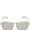 One orbit geometric mirror sunglasses