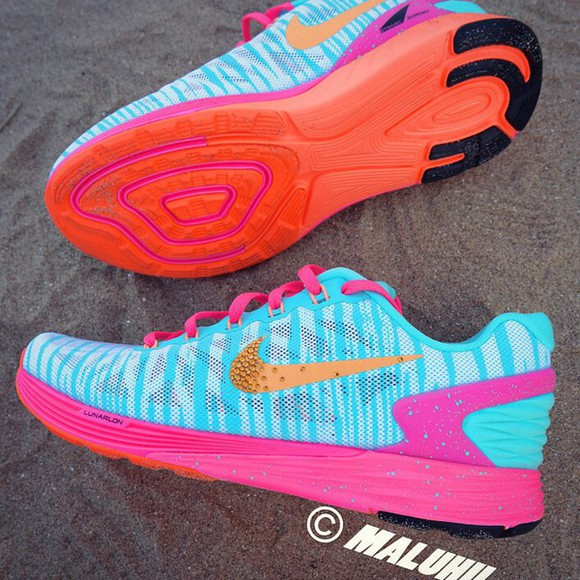 shoes print maluhii neon orange swarovski nike nike running shoes maluhii nike style colourful custom bright trainers tiger print animal nike free nike tr cool latest bright colored