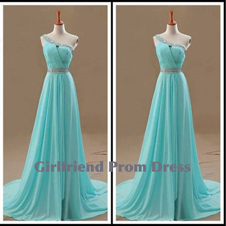 dress blue vintage prom prom dress bridesmaid long prom dress fashion formal dress cute dress