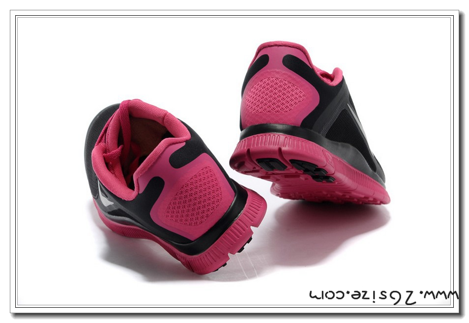 Buy Black Pink Nike Womens Free 4.0 V3 On Sales