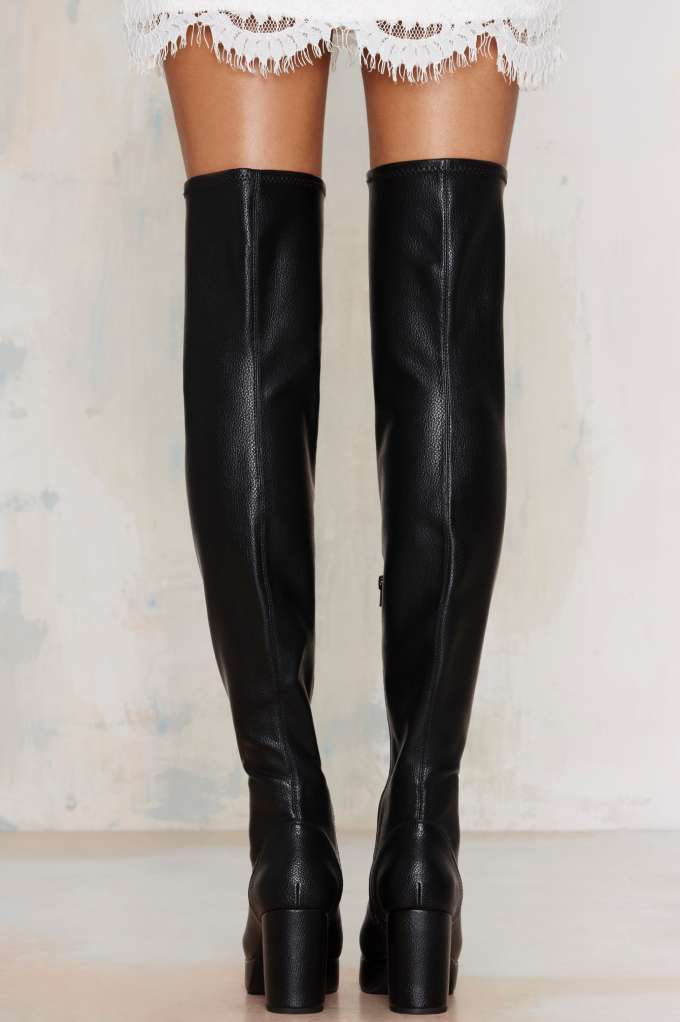 Campbell Fosse Thigh-High Boot