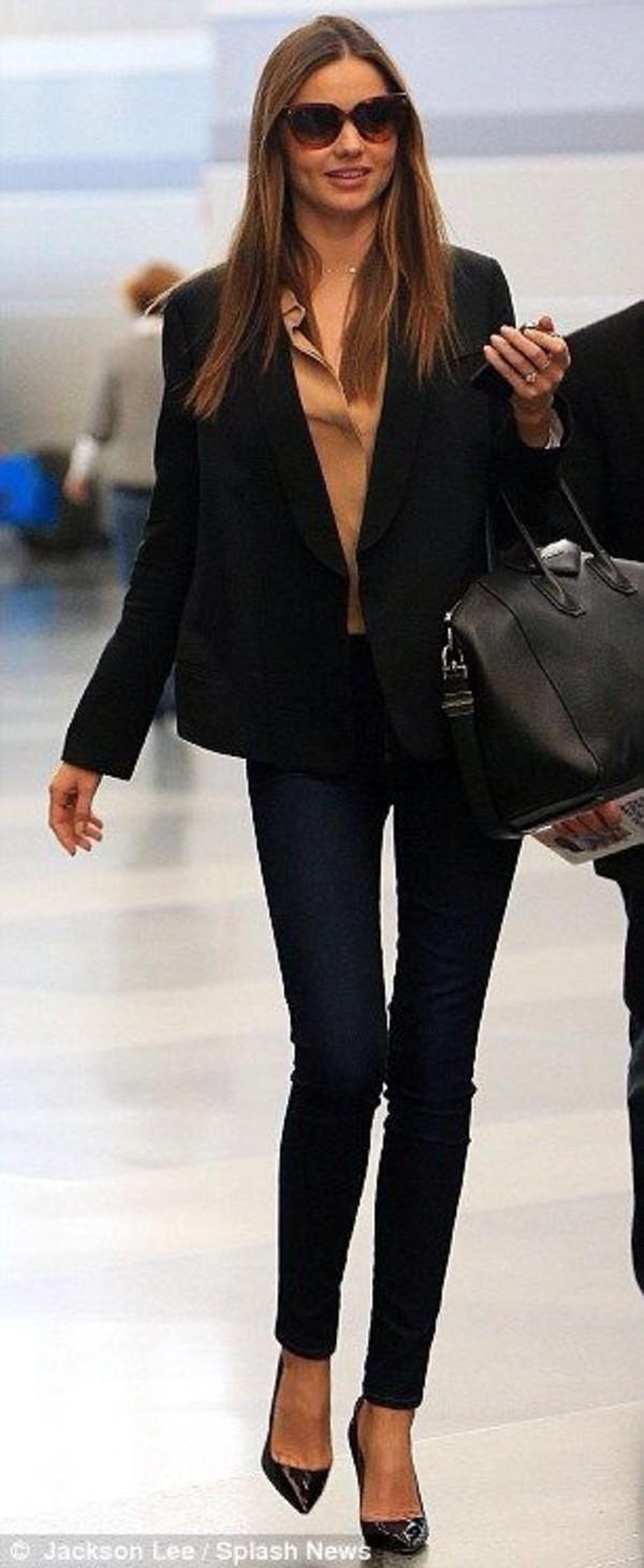 blouse miranda kerr jeans