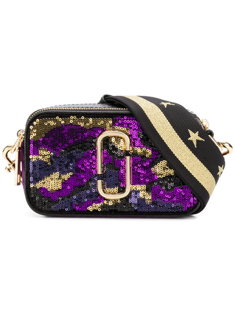 Marc Jacobs women bag leather purple pink