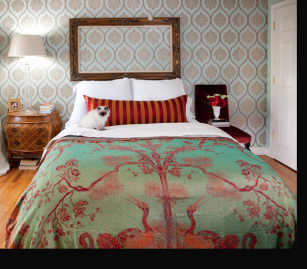 Bag Tapestry Sheet Silk Bedding Coverlet Bedding Bedding Home Decor