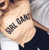 shirt,girl gang,dope,Fizzm,dark lipstick,soft grunge,90s style,t-shirt,nude