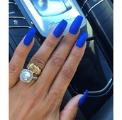 nail polish,blue nail polish,nail accessories,nails,blue,perfect nails,matte nail polish,matte,blue nails,matte blue