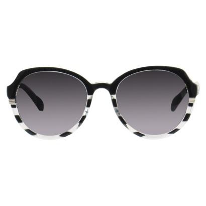 Women's Xhilaration® Round Sunglasses - Black : Target