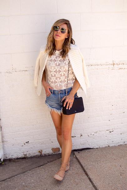 cella jane blogger jacket tank top shorts bag