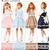 Rakuten: 【M~3L】Original Alice print ♪ Jean ska ribbon one piece- Shopping Japanese products from Japan