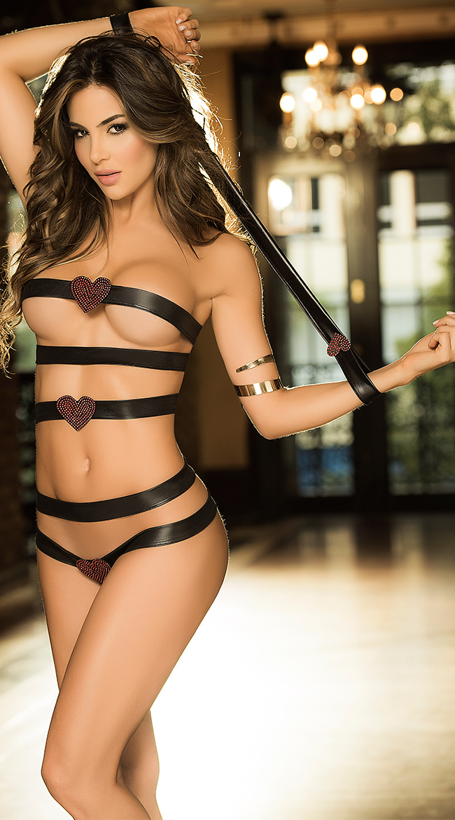 Sexy Leather Lingerie To Spice Up Any Night - My Lingerie Magazine