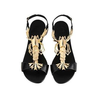 shoes giuzeppe lobster zanotti flats giuseppe zanotti