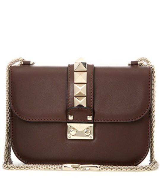 Valentino bag shoulder bag leather brown
