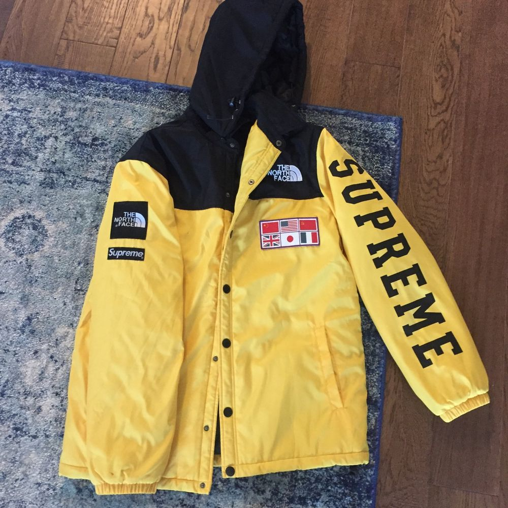 7917d971f8 promo code for the north face supreme yellow jacket 9fabc c17bf