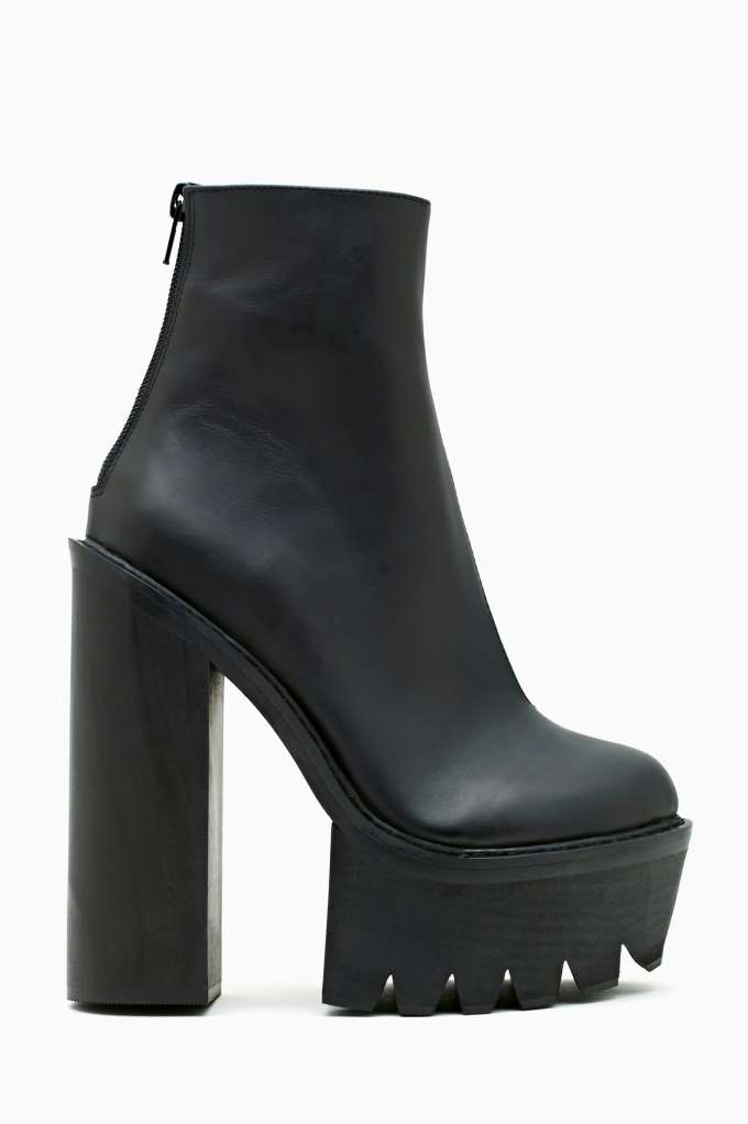 Jeffrey Campbell Mulder Platform Boot in  Shoes at Nasty Gal