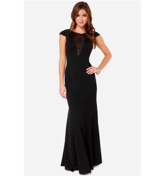 dress black dress maxi dress classy dress special occasion dress
