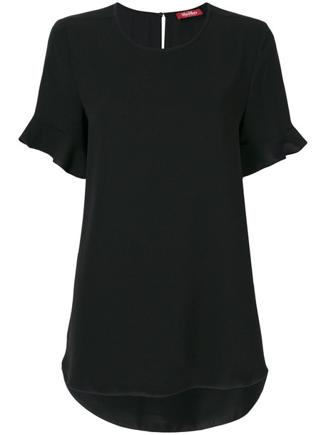 Max Mara Studio t-shirt shirt t-shirt women black top