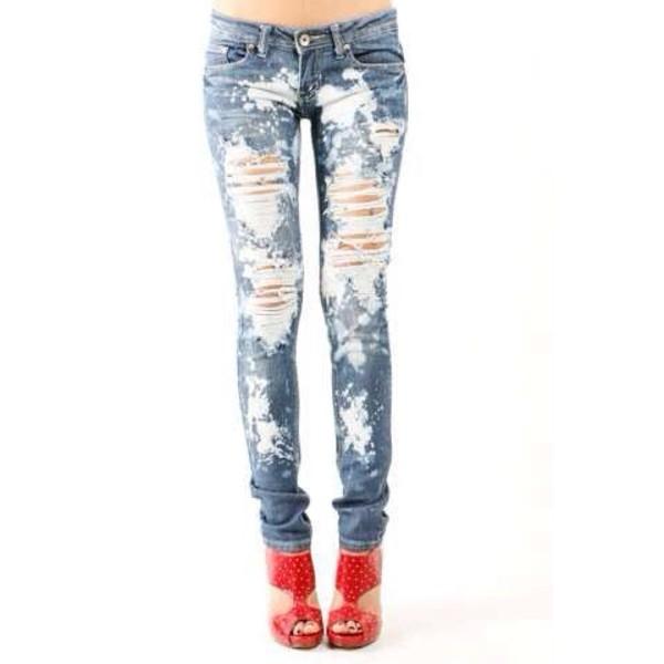 jeans blua skinny
