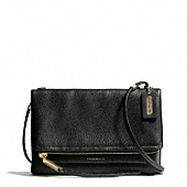 Coach :: THE URBANE CROSSBODY BAG IN PEBBLED LEATHER