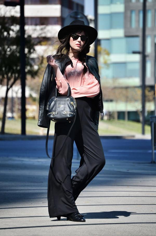 views by laura pants shoes jacket blouse bag hat sunglasses