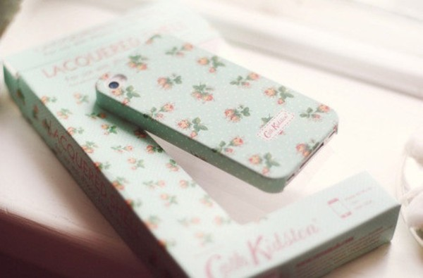 jewels iphone cover flowers