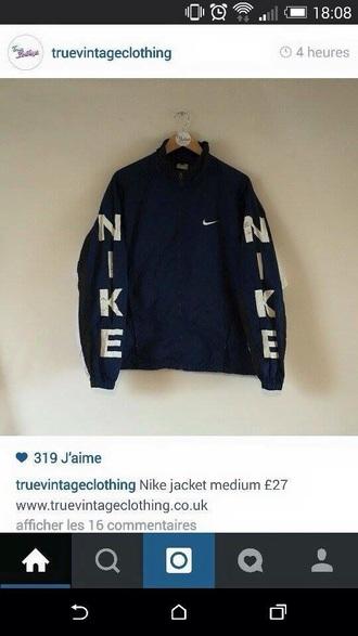 jacket nike navy