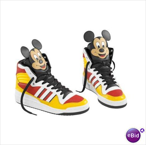 Adidas jeremy scott mikey mouse new ! adidas shoes sur le france de ebid