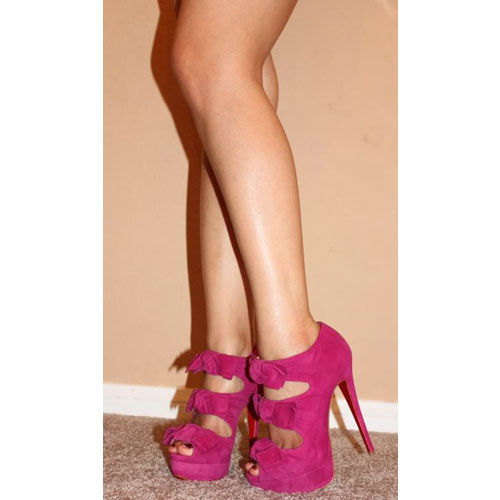 Christian Louboutin Madame Butterfly Booties Pink Red Bottom Shoes - $885.00