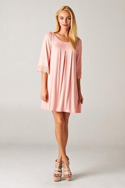 True love waits dress: peach