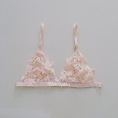 underwear,yokoyaki,bralette,lace lingerie,lace bra,lace dress,nude pink,bra,fashion,style,lingerie set,lace bralette,fashion vibe