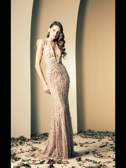 dress sparkle jewelry sparkly dress sparkle dress long dress prom dress creme creme sparkles