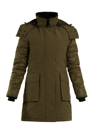 parka khaki coat