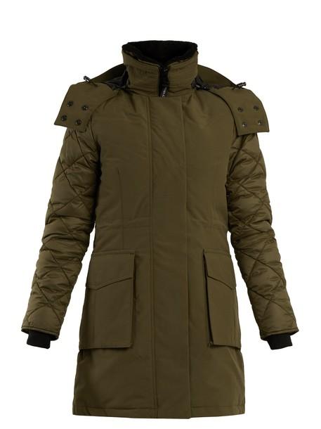 canada goose parka khaki coat