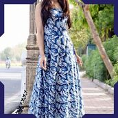 dress,floral maxi dress,blue dress,printed dress,maxi dress