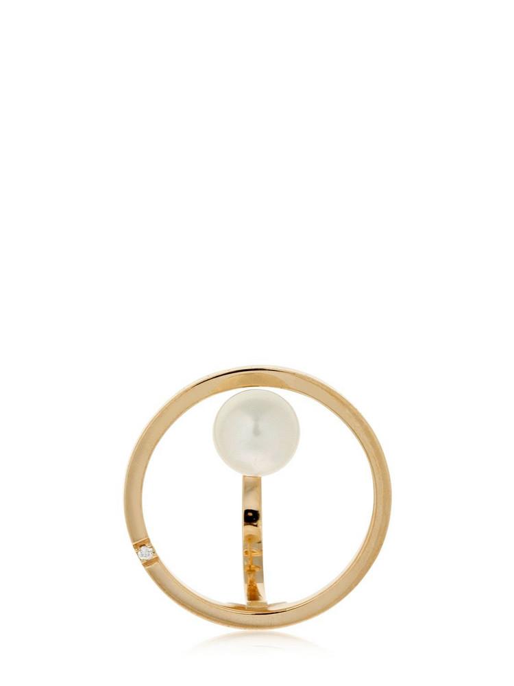 DELFINA DELETTREZ Bubble Earring Mono Earring in gold