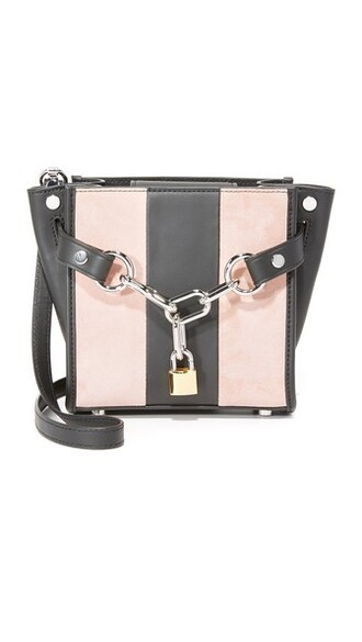 cross mini cameo bag pink