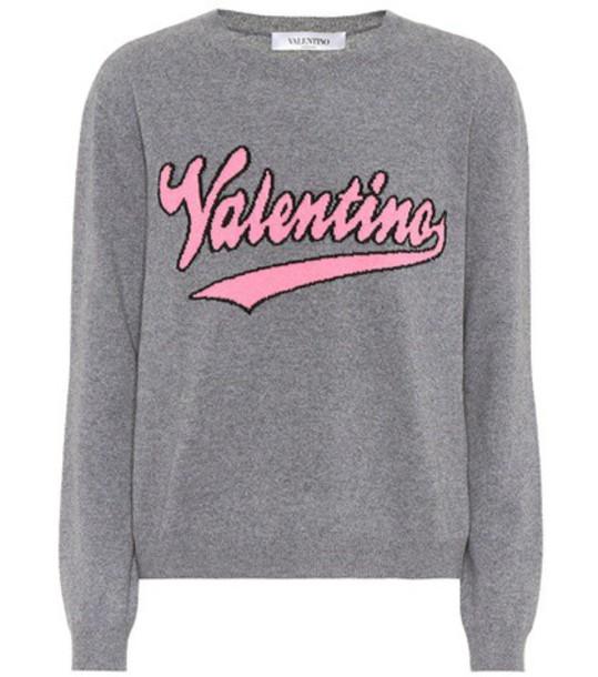 sweater wool grey