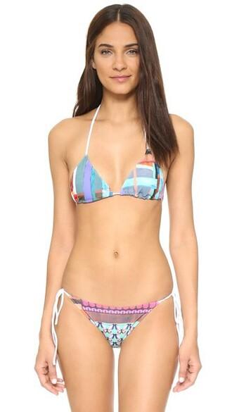 bikini bikini top triangle bikini triangle butterfly swimwear